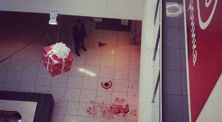 """В Уфе в ТК """"Центральный"""" мужчина сбросился с третьего этажа. Фото"""