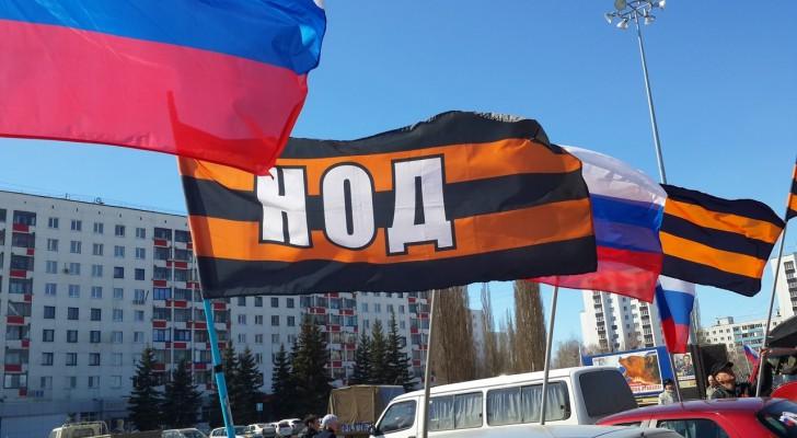 В республике Башкортостан провели автопробег в поддержку мирных жителей Украины