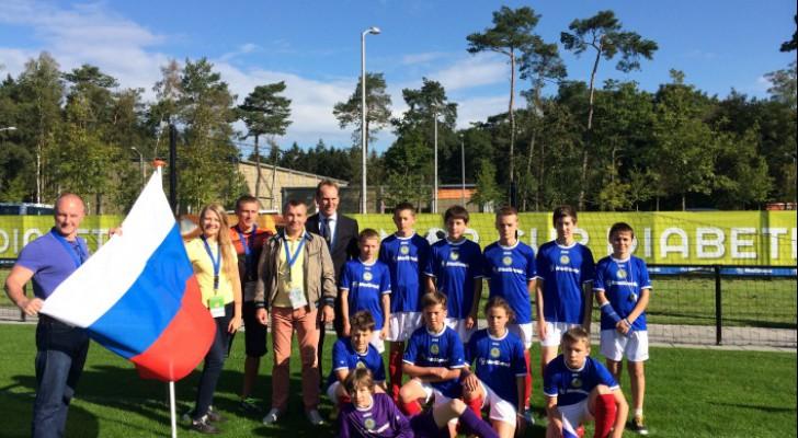 Юный футболист из Уфы в составе сборной России принял участие в чемпионате мира по футболу для детей с диабетом