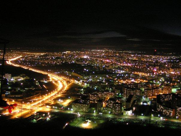 В Уфе по ночам станет светлее На установку световых опор, изолированных проводов и...